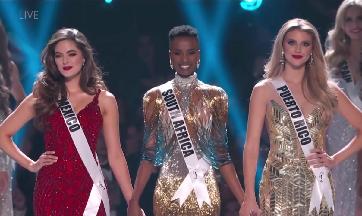 Miss Universo premia modelo da África do Sul. Foto: Reprodução/ABS CBN Entertainment