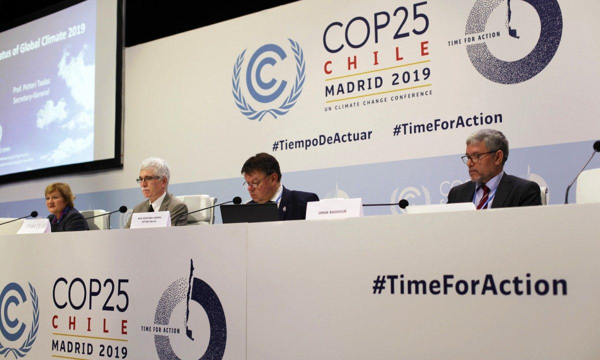 Conferência do Clima realizada em Madrid, no fim de 2019 - Foto: UNclimatechange