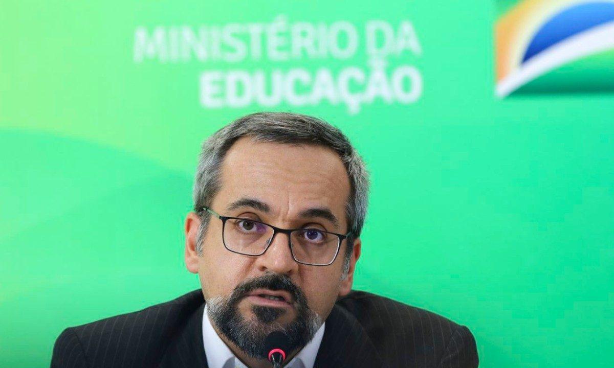 O ministro Weintraub reafirmou a presença de maconha nas universidades federais. Créditos: EBC