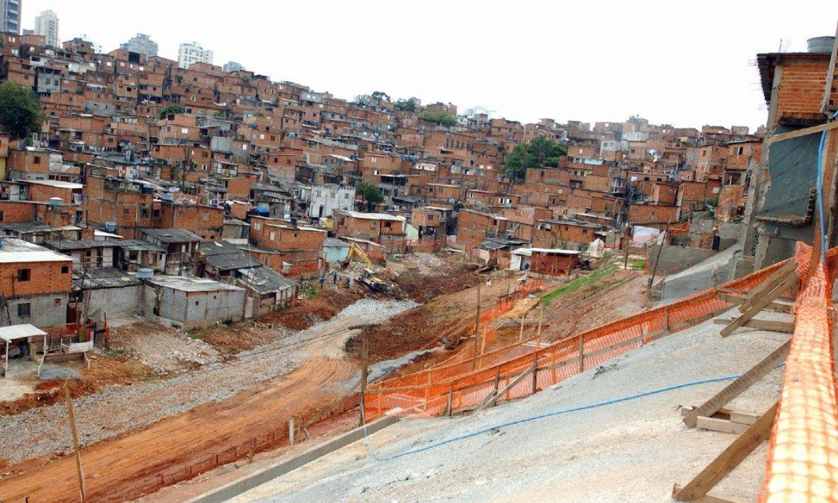 Favela de Paraisópolis (Foto: Wikimedia Commons)