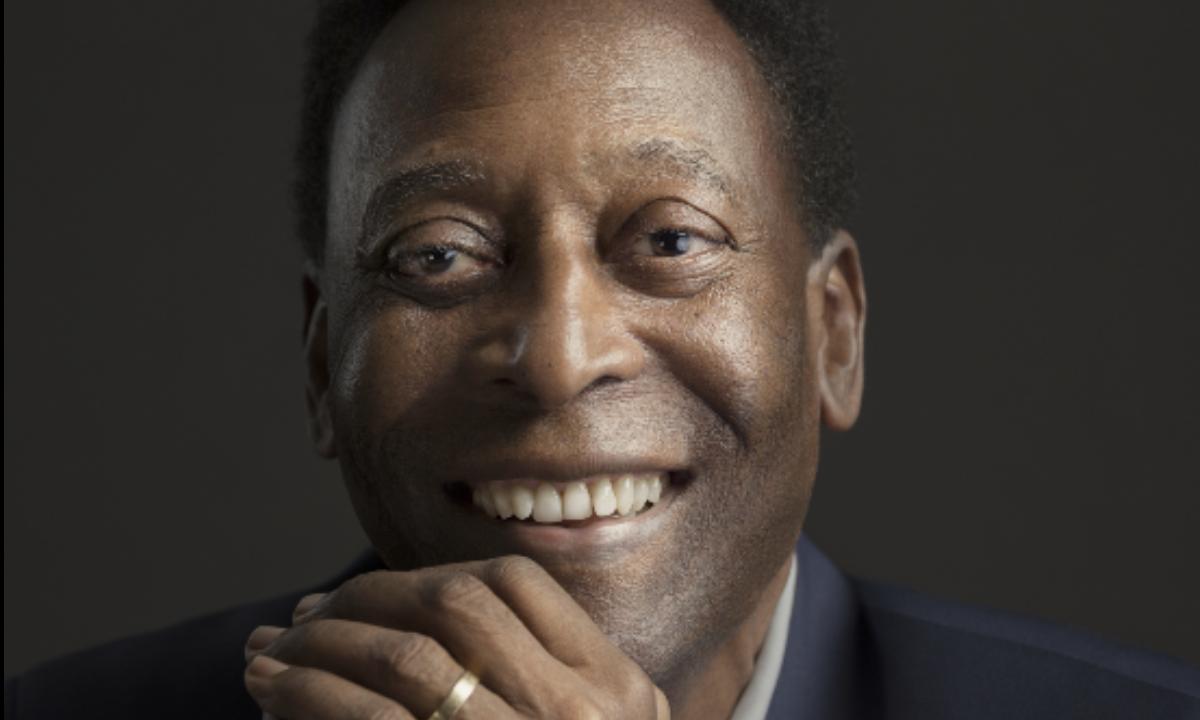 O jogador de futebol Pelé. Foto: Sandro Baebler/Getty Images/AFP