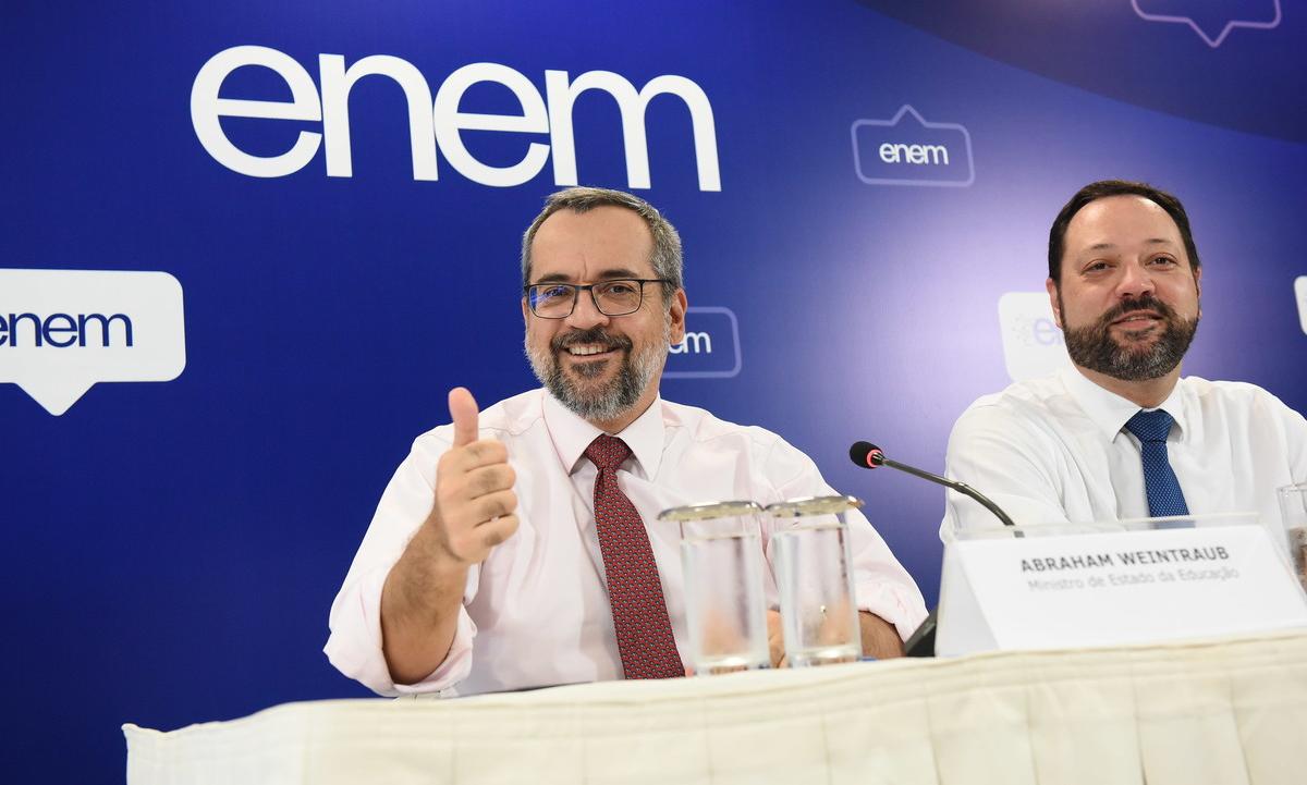 O ministro da Educação, Abraham Weintraub. Foto: Luis Fortes/MEC