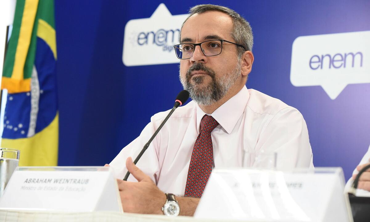 Abraham Weintraub, ministro da Educação -  Foto: Luis Fortes/MEC