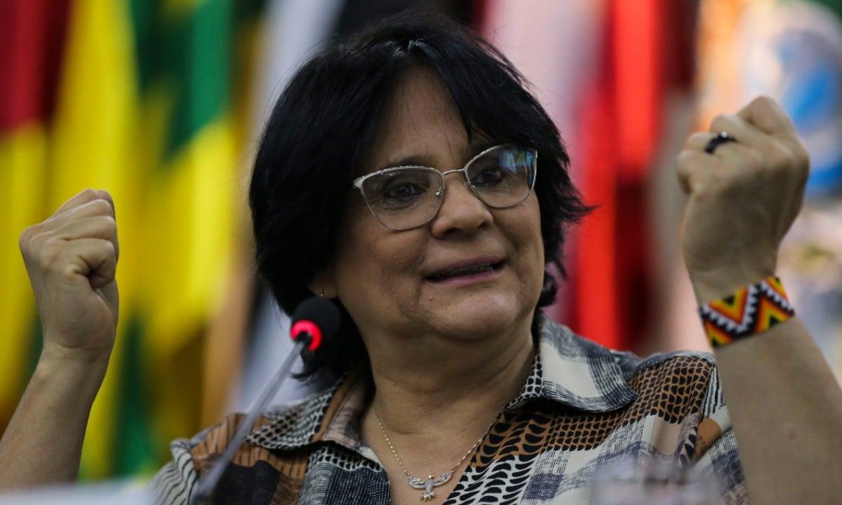 A ministra da Mulher, Família e Direitos Humanos Damares Alves (Foto: José Cruz / Agência Brasil)