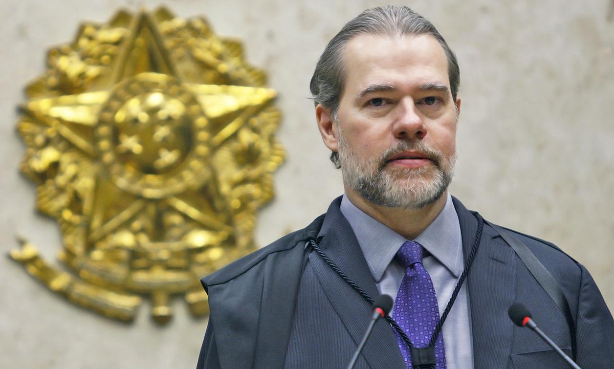 O presidente do STF, ministro Dias Toffoli. Foto: Felipe Sampaio/SCO/STF