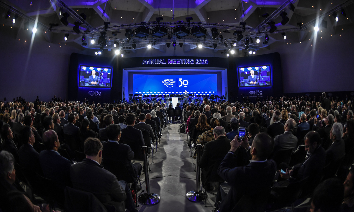 Fórum de Davos terá a edição mais verde em sua comemoração de 50 anos. Foto: Benedikt von Loebell/World Economic Forum
