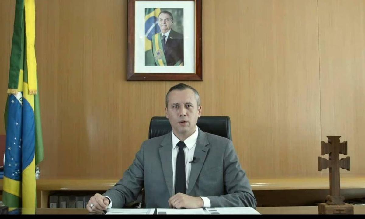 O ex-secretário Roberto Alvim