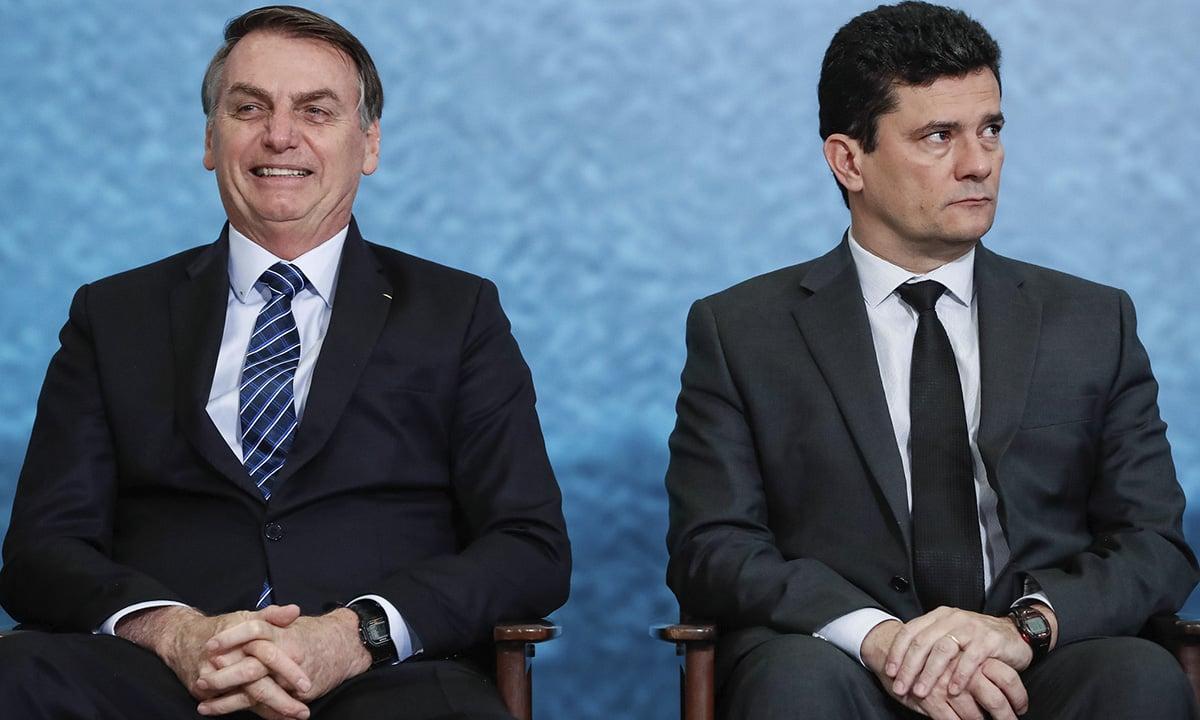 Bolsonaro e Moro. Foto: Alan Santos/PR