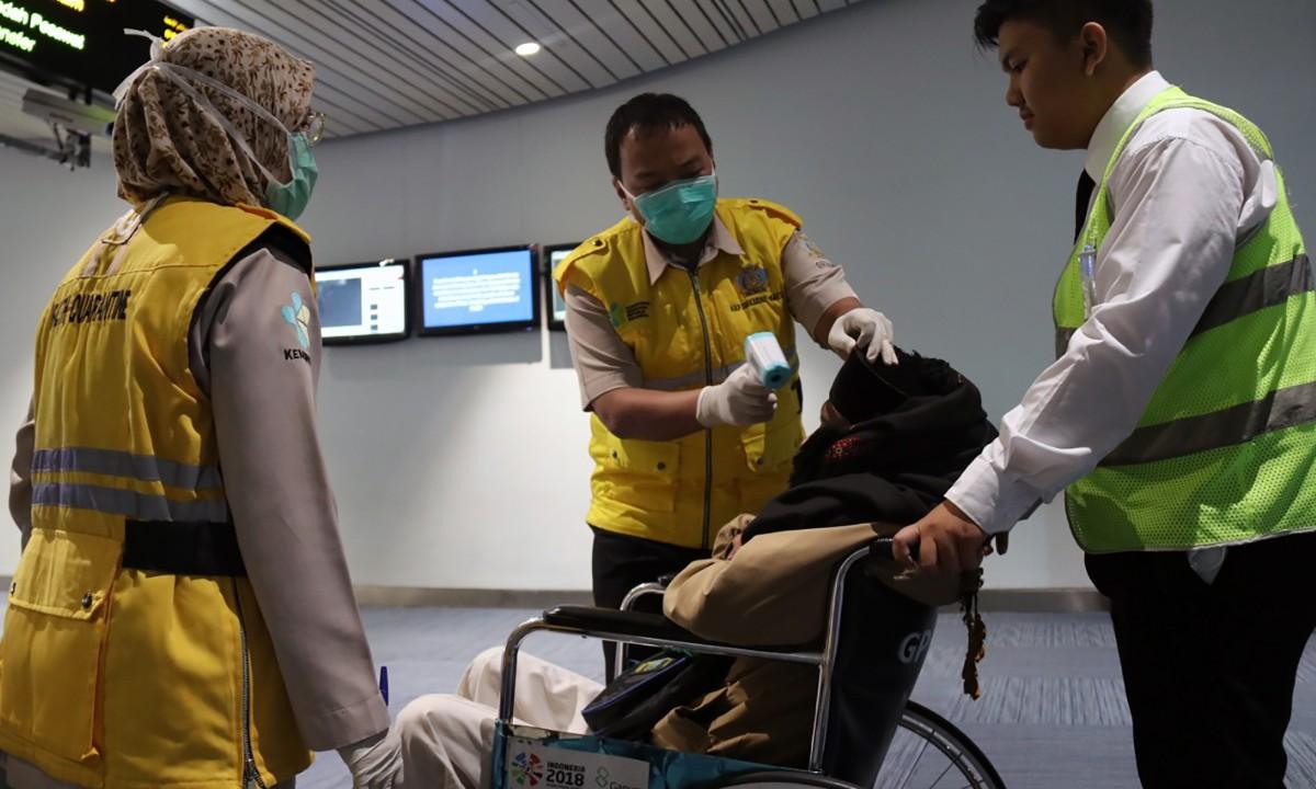 (Foto: HANDOUT / SOEKARNO-HATTA INTERNATIONAL AIRPORT HEALTH CENTRE / AFP)