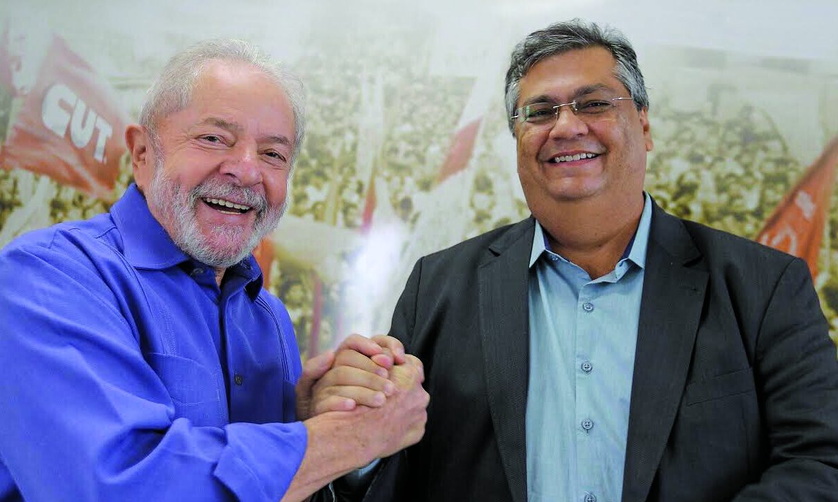 Lula e Dino.  Foto: Ricardo Stuckert