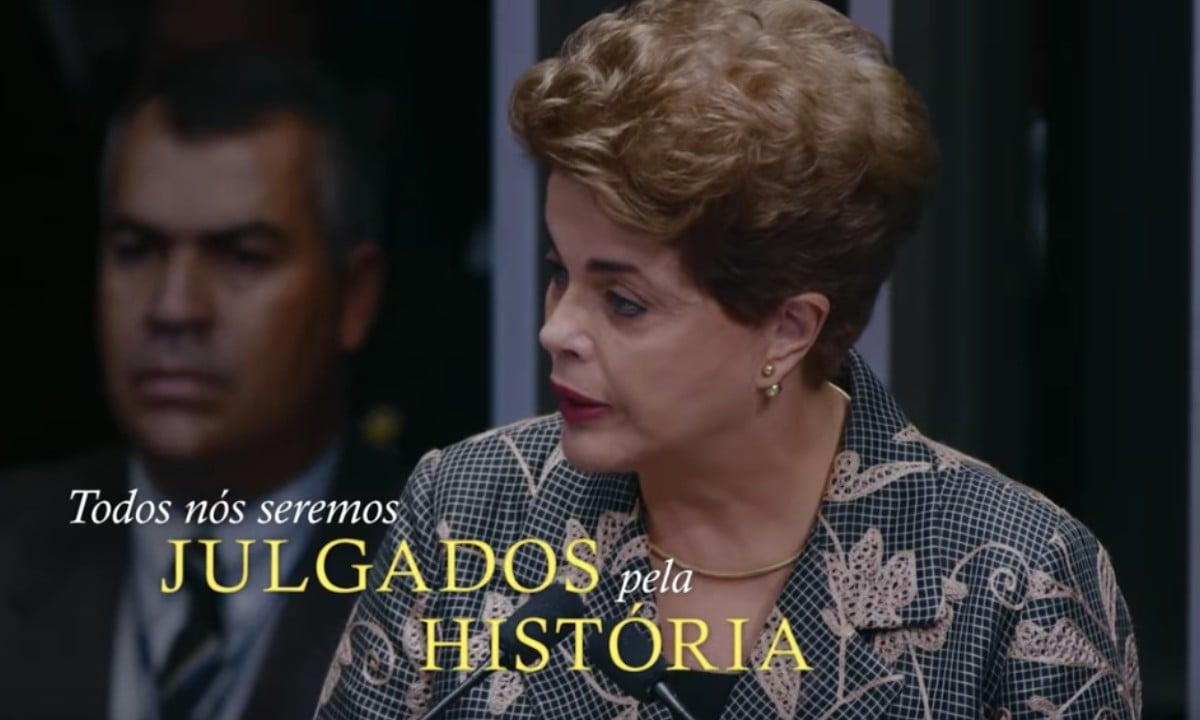 Cena do documentário Democracia em Vertigem (Reprodução)