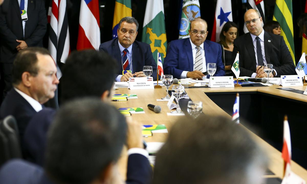 Governadores se reuniram em 11 de fevereiro para debater reforma tributária. Foto: Marcelo Camargo/Agência Brasil