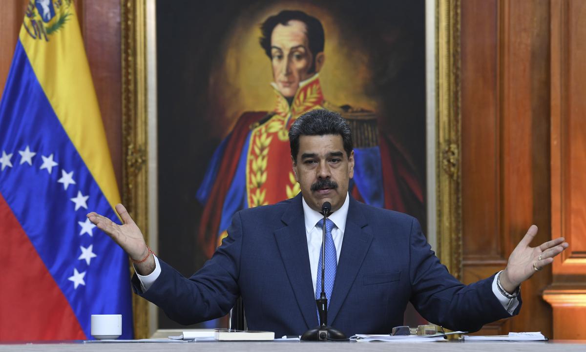 O presidente da Venezuela, Nicolás Maduro. Foto: Yuri Cortez/AFP