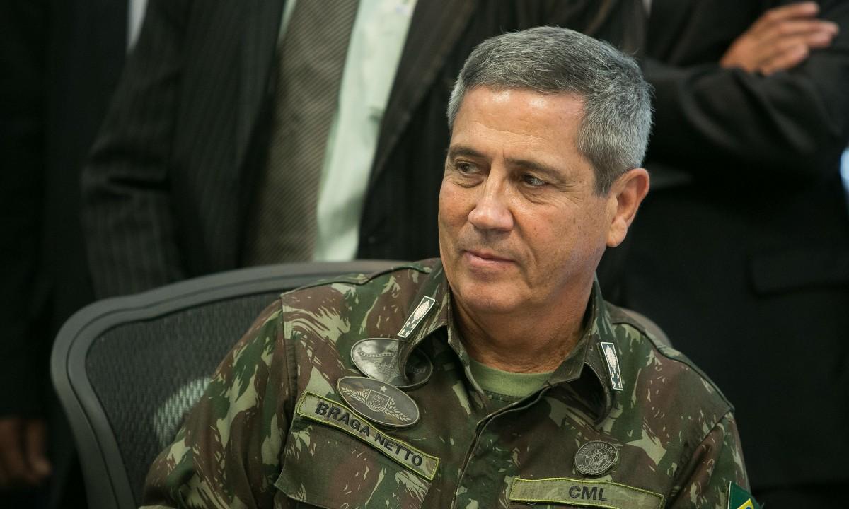Ministro da Defesa, general Walter Braga Netto   Foto: Alan Santos / PR