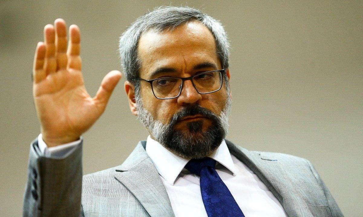 O ministro da Educação, Abraham Weintraub (Foto: Marcelo Camargo / Agência Brasil)