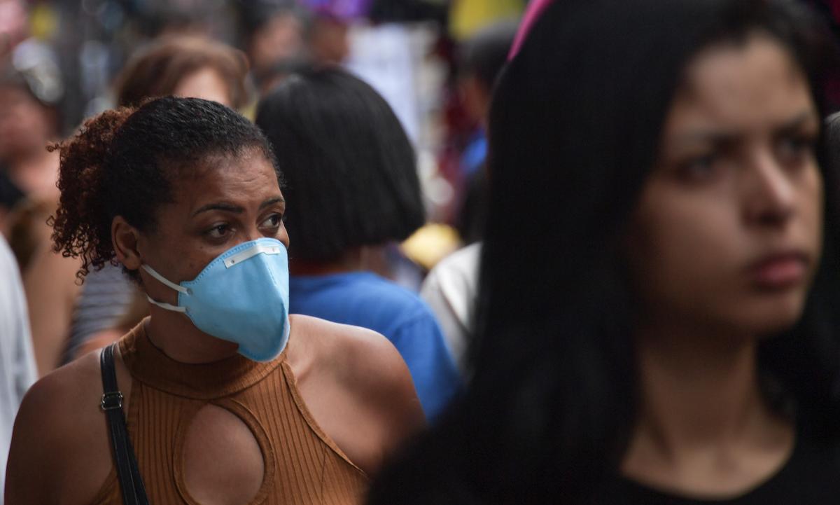 São Paulo concentra maioria de casos da pandemia. Foto: Nelson Almeida/AFP