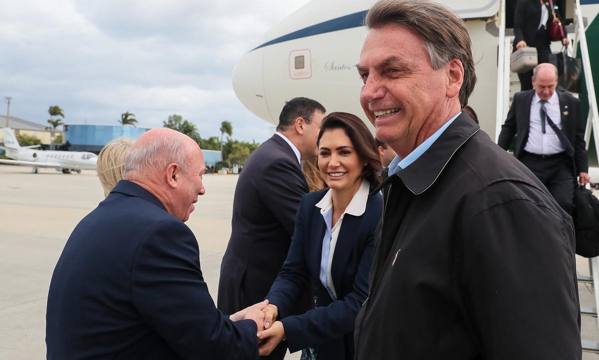 Presidente Jair Bolsonaro foi aos Estados Unidos e se reuniu com Donald Trump. Foto: Isac Nóbrega/PR