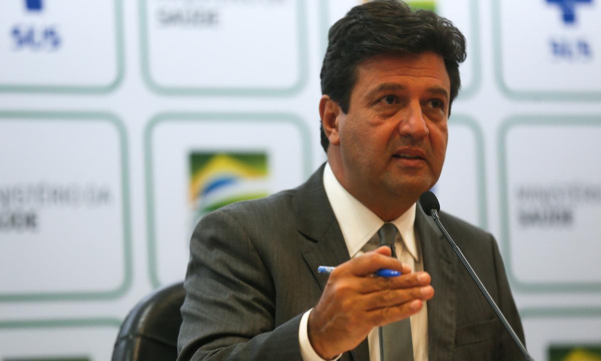 O ministro da Saúde, Luiz Henrique Mandetta. Foto: Marcello Casal Jr./Agência Brasil