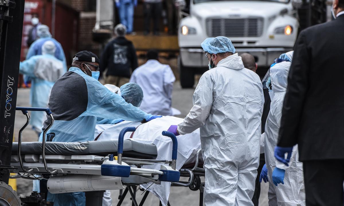 Casos de coronavírus disparam nos Estados Unidos. Foto: STEPHANIE KEITH/GETTY IMAGES NORTH AMERICA/Getty Images via AFP