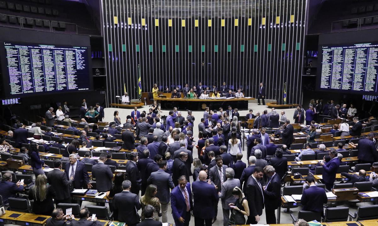 Sessão no plenário da Câmara dos Deputados. Foto: Luis Macedo/Câmara dos Deputados