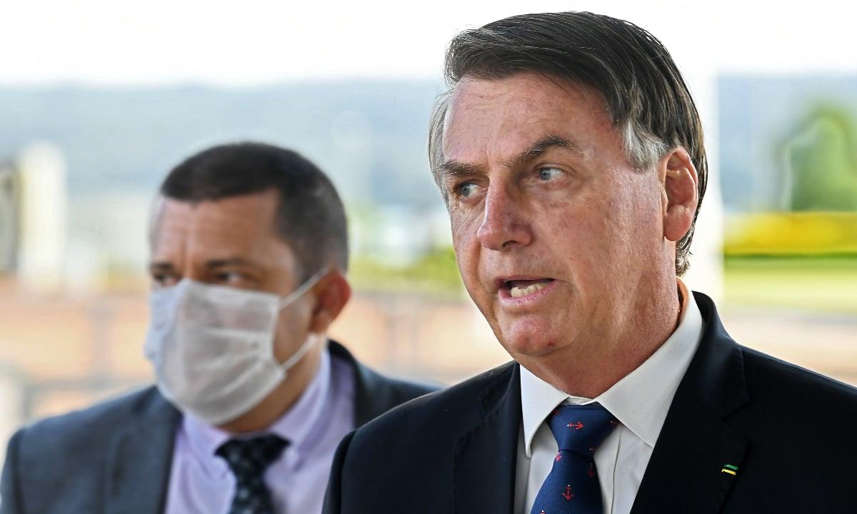 Presidente Jair Bolsonaro. Foto: AFP