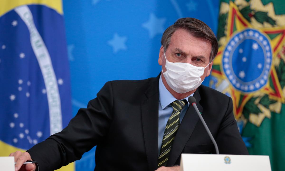 O presidente Jair Bolsonaro. Foto: Carolina Antunes/PR