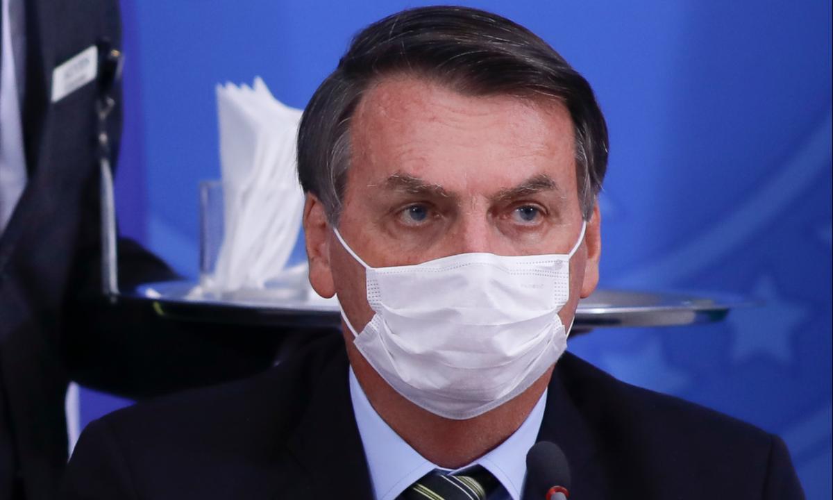 O presidente Jair Bolsonaro. Foto: Sergio Lima/AFP