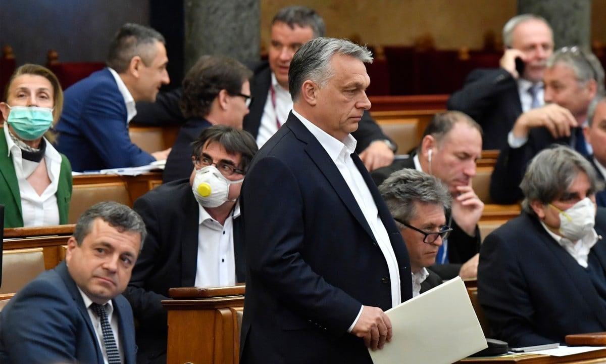O primeiro-ministro ultranacionalista Viktor Orban. Foto: Zoltan Mathe/Pool/AFP