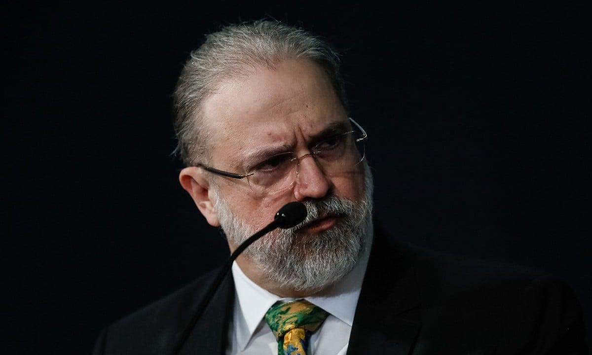 O procurador-geral da República, Augusto Aras Foto: Isac Nóbrega/PR