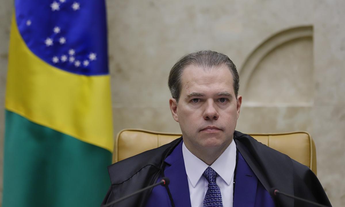 O ministro Dias Toffoli, do Supremo Tribunal Federal (STF). Foto: Rosinei Coutinho/SCO/STF