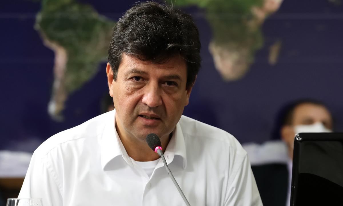 O ministro da Saúde, Luiz Henrique Mandetta. Foto: Marcos Corrêa/PR