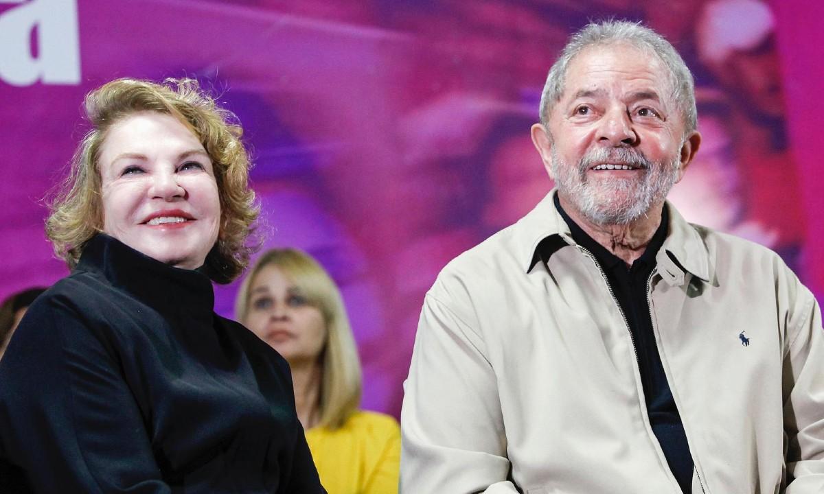Lula e Marisa Letícia durante evento do Dia das Mulheres - Foto: Foto: Heinrich Aikawa/Instituto Lula