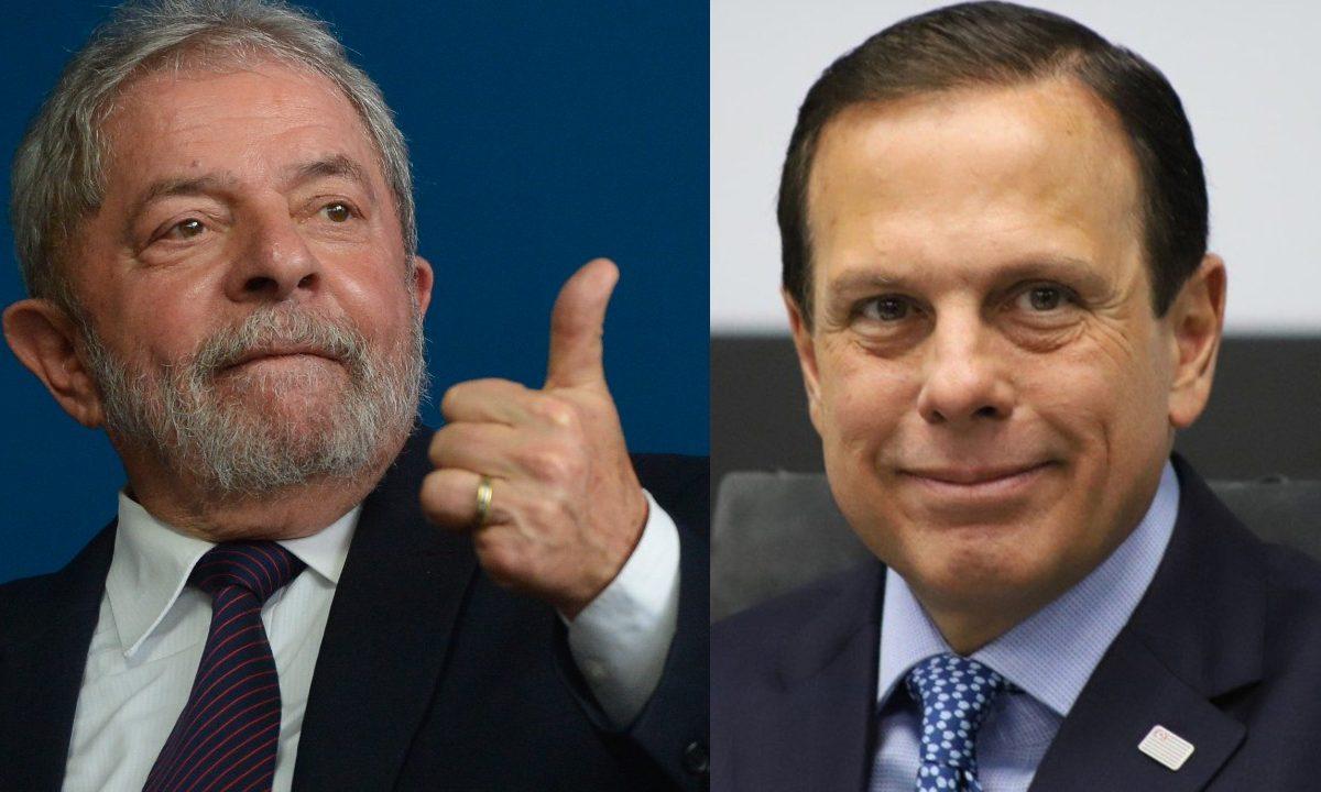 """Lula e Doria trocam gentilezas pelo Twitter: """"Agora não é hora de ..."""