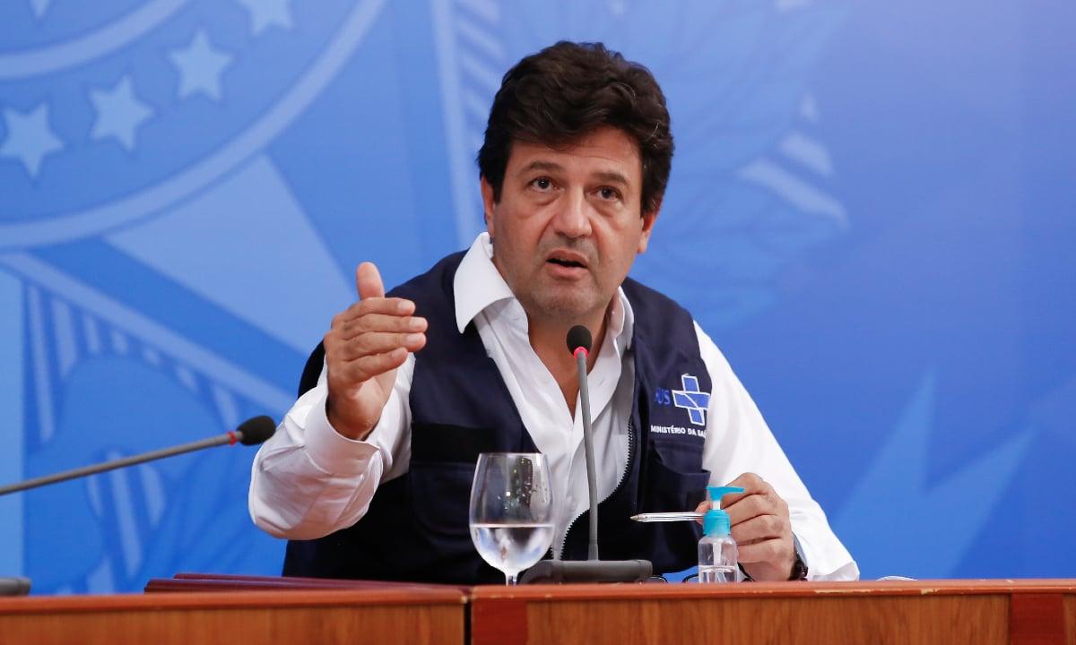 O ex-ministro da Saúde Luiz Henrique Mandetta. Foto: PR