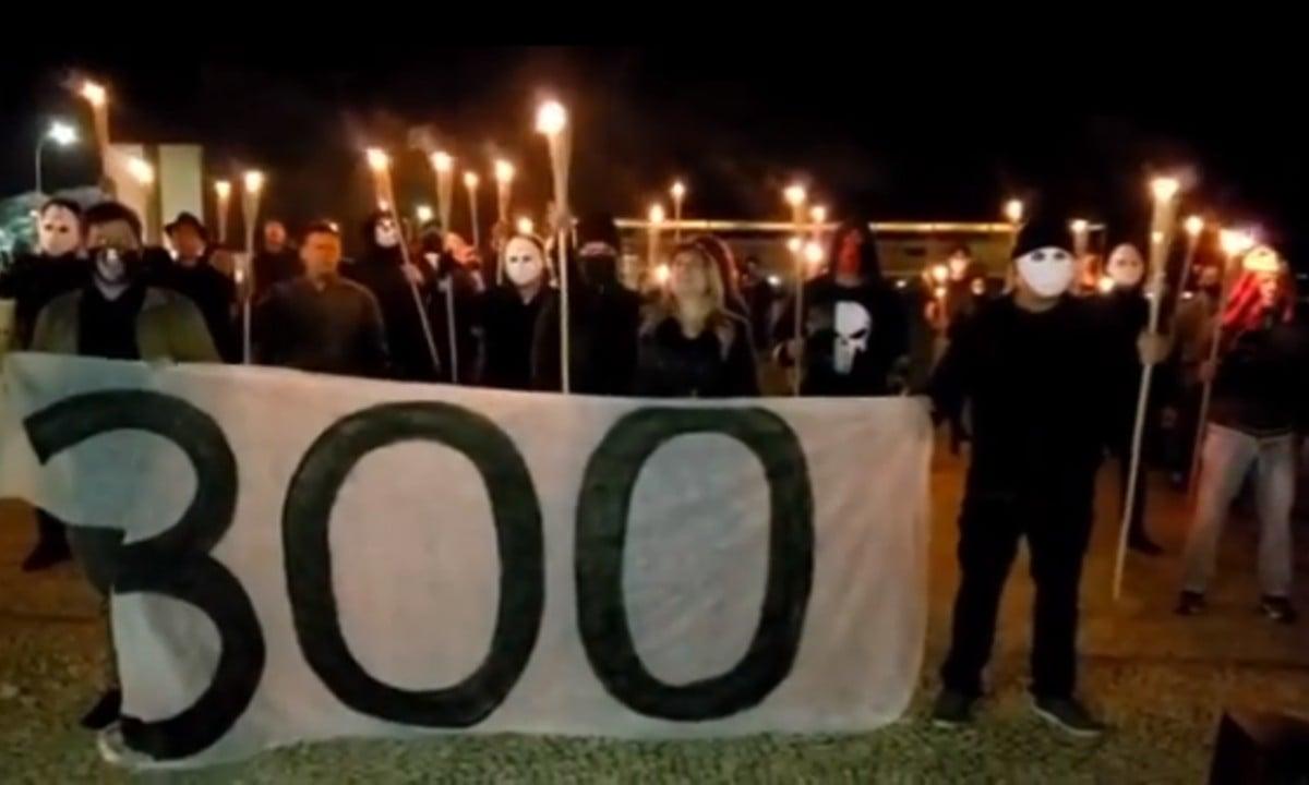 Grupo dos 300 pelo Brasil. Foto: Reprodução