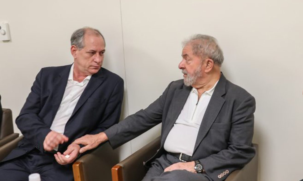 Lula e Ciro. Foto: Ricardo Stuckert/Instituto Lula
