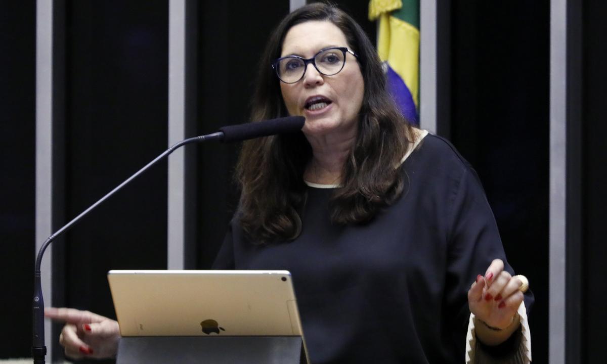A deputada federal bolsonarista Bia Kicis (PSL-DF). Foto: Luis Macedo/Câmara dos Deputados