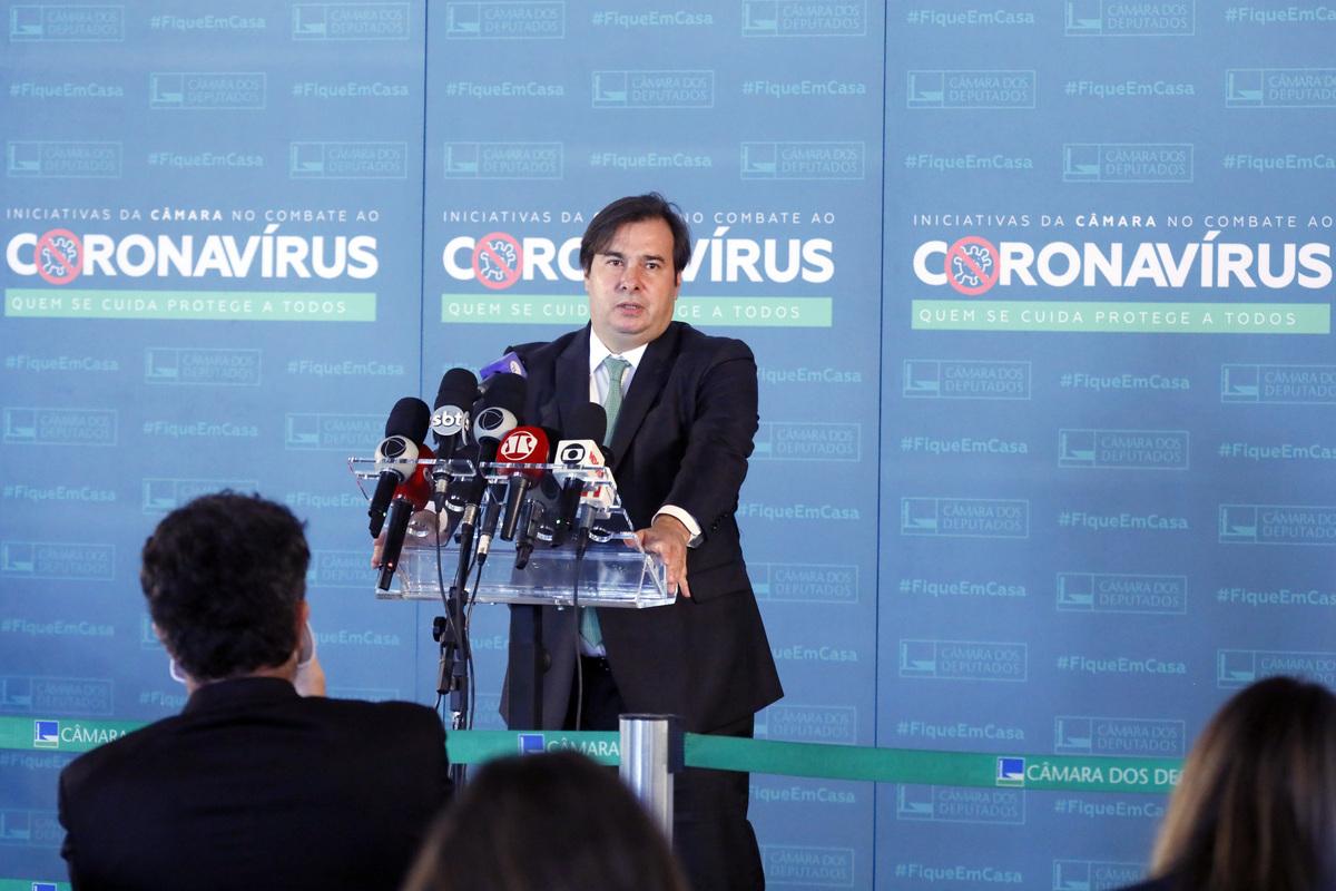 O presidente da Câmara, Rodrigo Maia (DEM-RJ). Foto: Maryanna Oliveira/Câmara dos Deputados