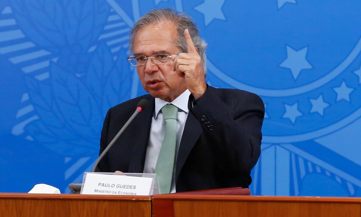 O ministro da Economia, Paulo Guedes. Foto: Anderson Riedel/PR