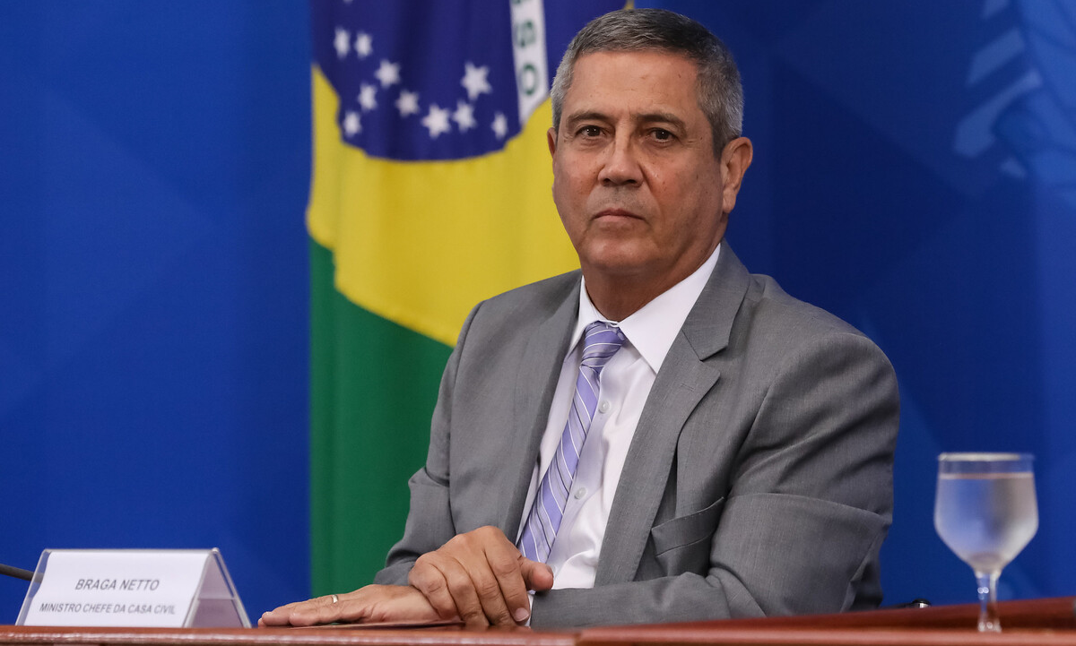 O ministro Walter Braga Netto. Foto: José Dias/PR