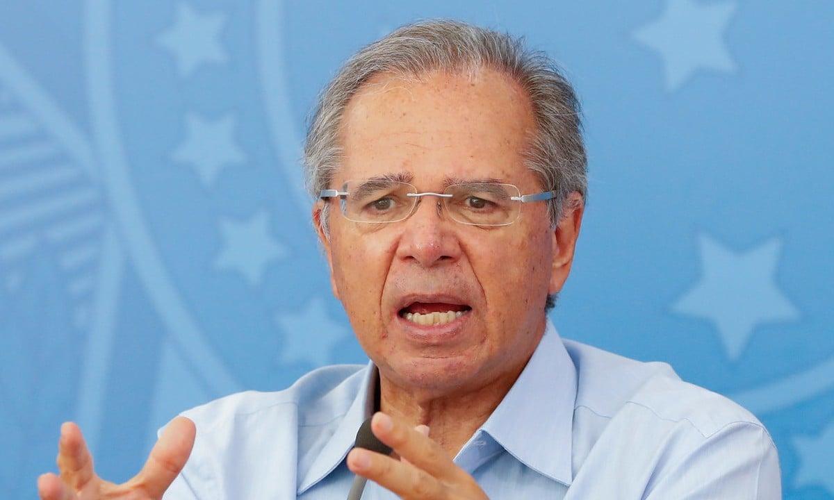Paulo Guedes, ministro da Economia, e suas teimosias.  Foto: Alan Santos/PR