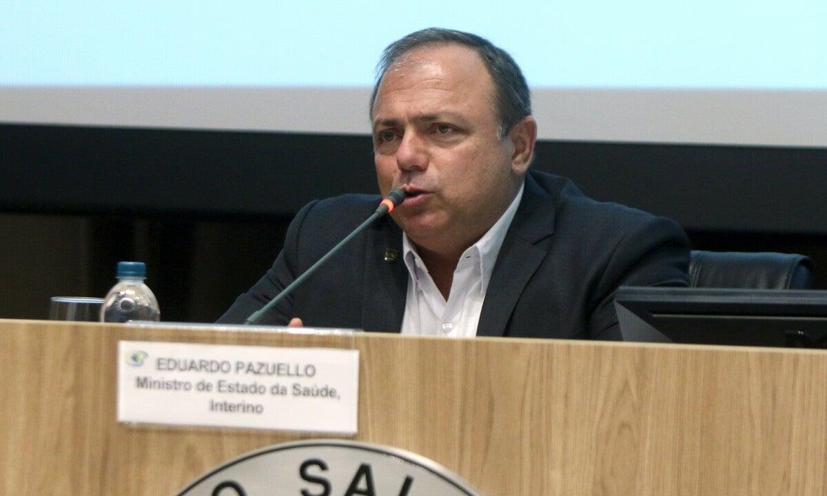 O ministro da Saúde, general Eduardo Pazuello. Foto: Erasmo Salomão/MS