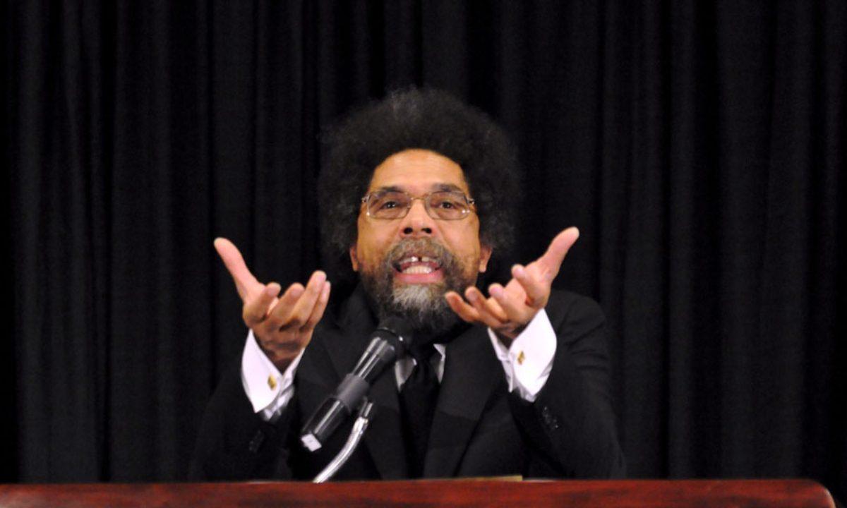 O filósofo Cornell West (Foto: Reprodução/Site Oficial)