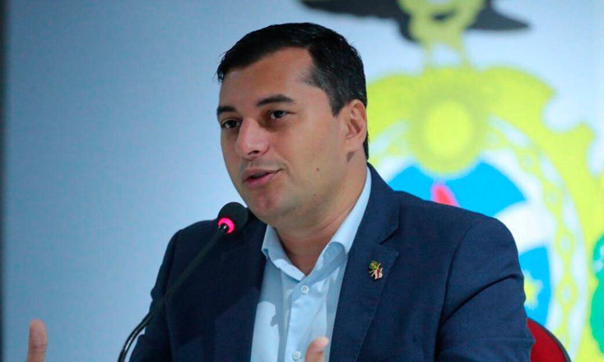 O governador do Amazonas, Wilson Lima. Foto: Governo do Amazonas