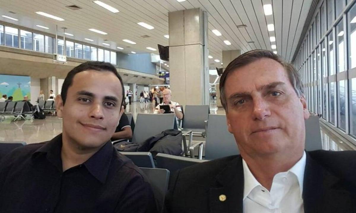 Tercio Arnaud Tomaz, assessor de Jair Bolsonaro. Foto: Reprodução/Facebook