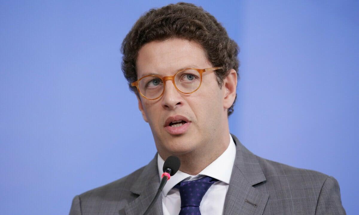 O ministro do Meio Ambiente, Ricardo Salles. Foto: Carolina Antunes/PR