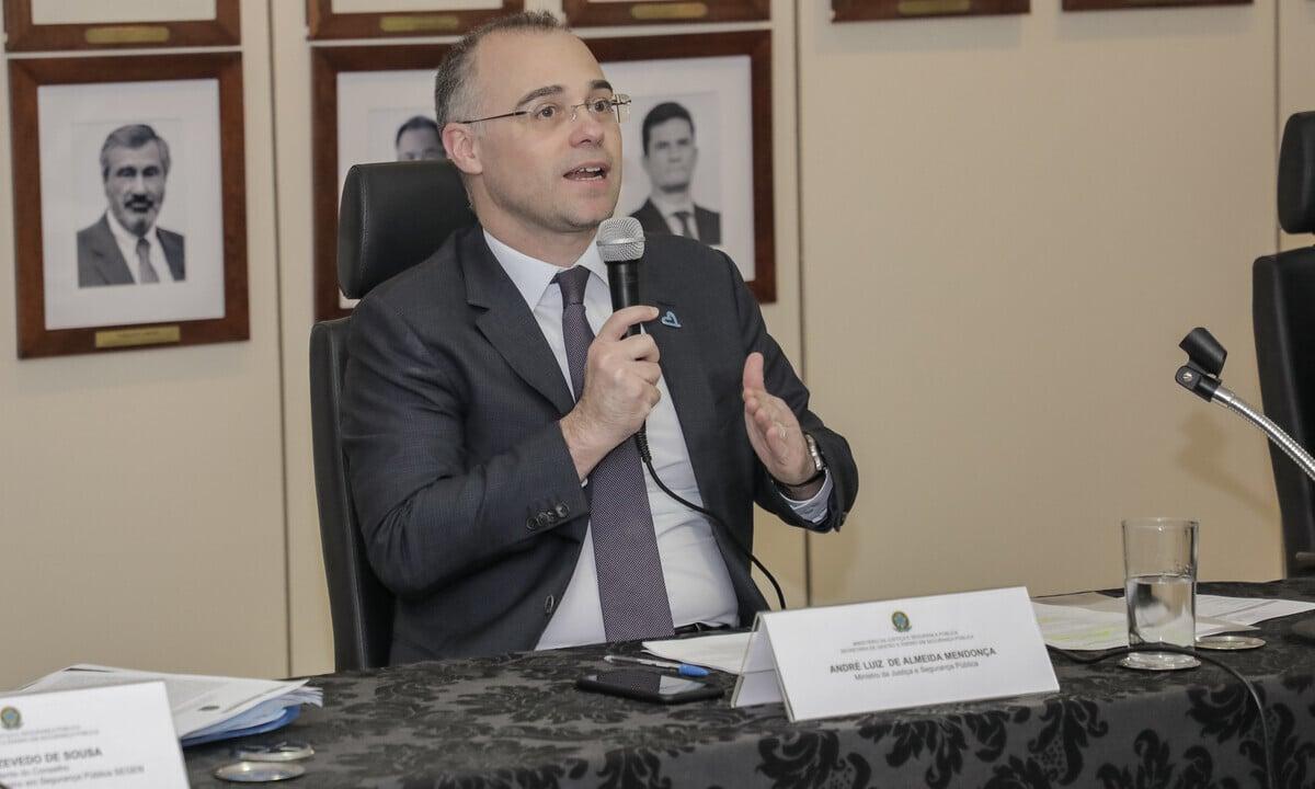 O ministro da Justiça e Segurança Pública, André Mendonça. Foto: Daniel Estevão/MJSP