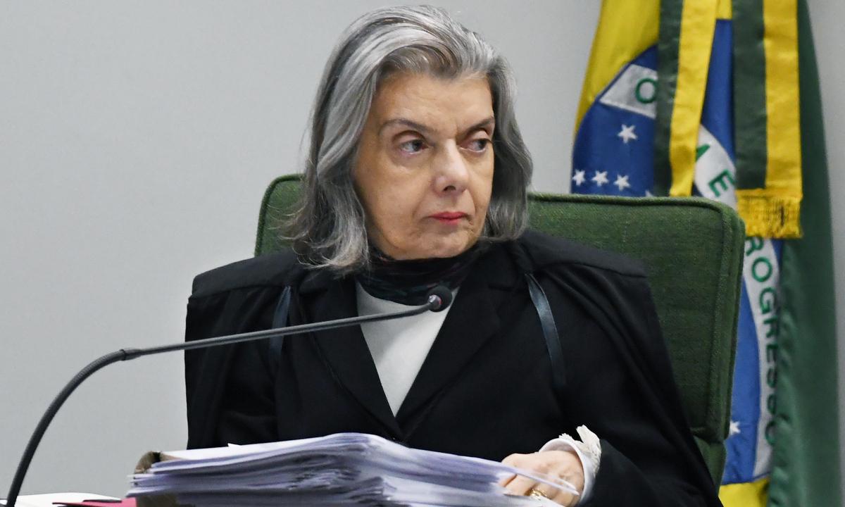 A ministra Cármen Lúcia, do Supremo Tribunal Federal (STF). Foto: Carlos Moura/SCO/STF