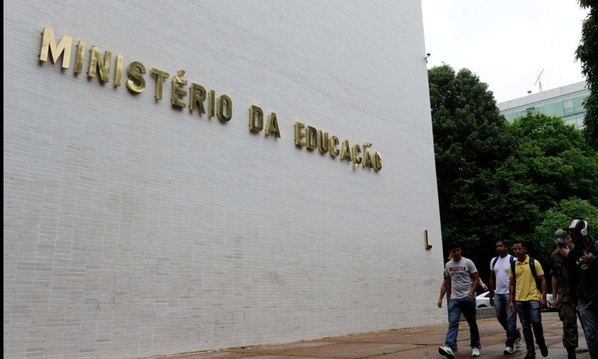 Fachada do Ministério da Educação (Foto: Marcos Oliveira/Agência Senado)