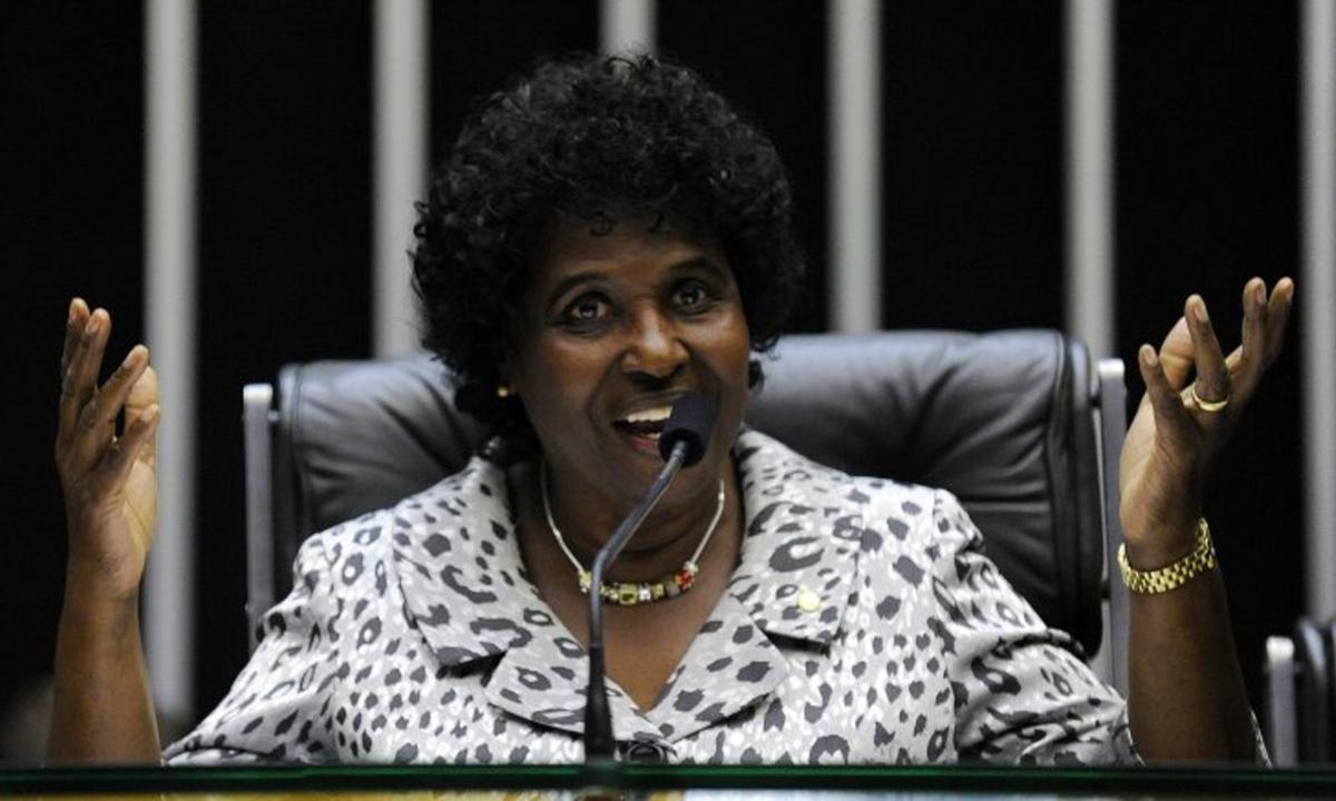 Deputada federal Benedita da Silva (PT/RJ). Foto: Câmara dos Deputados.